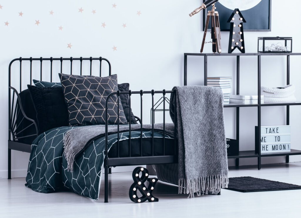 Picture of: Top 5 Industrial Bed Frames Of 2020 You Will Love Nº 3